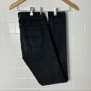 ABERCROMBIE & FITCH Black Super Skinny Jeans